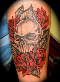 There are such a lot of tattoo designs and classes for tattoo lovers .Through which Cranium tattoos is exclusive one fashion of tattoo.Cranium Tattoo designs are the wonderful and unusual tattoo designs. Finger Tattoo Designs, Skull Tattoo Design, Tattoo Designs For Girls, Unique Half Sleeve Tattoos, Large Tattoos, Sleeve Tattoos For Women, Trendy Tattoos, Tattoo Girls, Photomontage