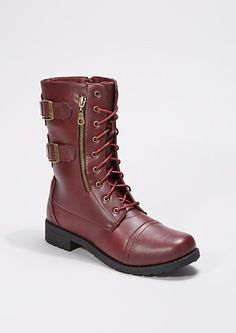 Combat Boots For Women | Steve Madden Troopa Boots | if you wanna ...