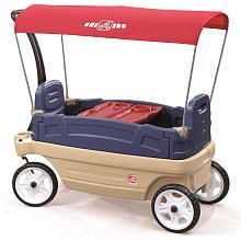 Step 2 Whisper Ride Touring Wagon--gotta get one of these for softball next season!!