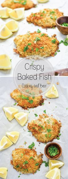Crispy Baked Fish: a family-friendly weeknight dish that's ready in under 30 minutes.