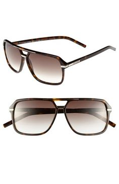 Christian Dior Black Tie 60mm Sunglasses
