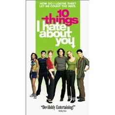 10 Things I Hate About You is a 1999 teen comedy loosely based on The Taming of the Shrew starring Julia Stiles and Heath Ledger. Patrick Verona (Ledger) is paid by Joey Donner (Andrew Keegan) to take out Kat Stratford (Stiles), a known feminist and anti-conformist, so that her younger sister Bianca (Larisa Oleynik) can go out as well.