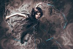 This is of one of my favorite fantasy characters, Vin. If you aren't familiar with the Mistborn trilogy or Brandon Sanderson's other books, go read them right now! You won't regret it!  &#822...