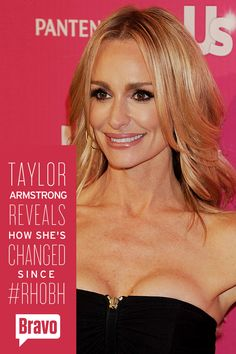 """""""The years that I filmed the Real Housewives I didn't get to be myself. I was just a shadow of a human being."""" Read more from Taylor Armstrong's candid interview."""