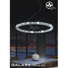 Diyas Galaxy 36 Light LED Ceiling Pendant