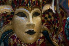A Venetian Mask - Venice, Italy.