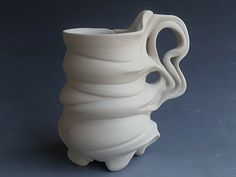 100 Cups, Julia Livingston. If I were better at pottery my mugs would look like this.