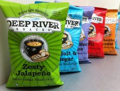 He's revolutionizing the snack world with healthy potato chips that are all natural, gluten free, kosher … and …. taste great. Hear the flavor-filled story of Deep River Snacks.  - The story of Deep River Snacks, today on Why Didn't I Think of That? - https://thinkofthat.net/app/deep-river-snacks-2/