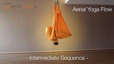 Aerial Yoga Flow - Intermediate Sequence - Jost Blomeyer - YouTube