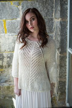 Careen Sweater in Berroco Linus - PDFNG14-11. Discover more Patterns by Berroco at LoveKnitting. The world's largest range of knitting supplies - we stock patterns, yarn, needles and books from all of your favorite brands.