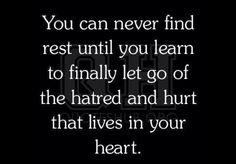Let go...you'll feel better