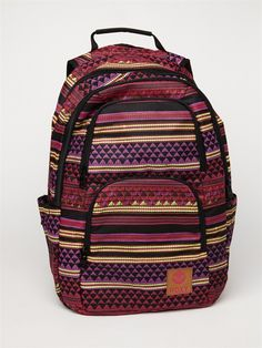 ROXY Huntress Backpack love the colours and the prints!
