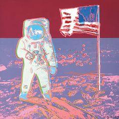 ANDY WARHOL Moonwalk, 1987 (#404/405) unique trial-proof screenprint