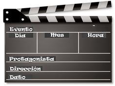 ★·.·´¯`·.·★La Casita de Vero★·.·´¯`·.·★: Invitacion corte y queda tipo cine