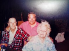 My Uncle Don Benson and grandparents Ebby & Ruby Benson before they passed. I last saw them in 1994 when Michael was 6 weeks old.