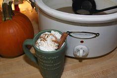 For the Love of Food: CrockPot Pumpkin Spice Latte Coffee