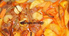 SEBZELİ BİFTEK MALZEMELER:   İstenilen kadar biftek  2 adet patates  2 adet havuç  2 adet kuru sogan veya 3-4 adet arpacık sogan  3 adet yeş...
