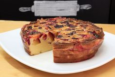 Clafoutis with plums @ das backhaus