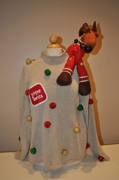 Christmas Sweater Idea for Ugly Sweater Party @Mary Powers Powers Schmidt