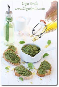 Pesto bazyliowe z ziemniakami - przepis | Kulinarne przepisy Olgi Smile
