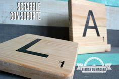 tienda de scrabble personalizado www.letrasdemadera.com