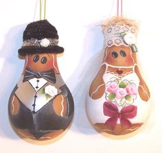Gingerbread Painting Patterns | Gingerbread LIGHTBULB CD 10 Patterns Uncle Sam Sweet Gingers Christmas ...