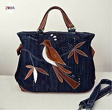 Kabelky - MONA Bird kabelka do ruky aj na plece - 6940236_