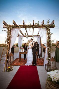 Para inspirar quem quer casar durante o dia | Gabi Chanas