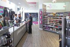 Salon Services, Sally, Commercial, Environment, Retail, Flooring, Interior Design, Store, Shopping