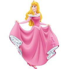 Дисней Принцессы: Мини картинки с принцессой Авророй