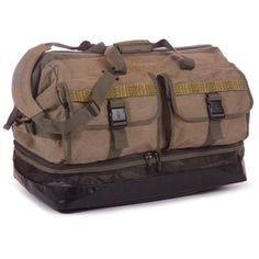 Fishpond Yellowstone Wader Duffle Bag Wide-mouth, anvil-style opening, the generously-sized Yellowstone Wader Duffel can swallow enough gear to take you in style to the most remote water on the planet. #FCOTampa #Flyfishing #Gearbags