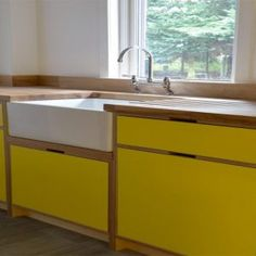 Birch Plywood Kitchen Cabinet Doors