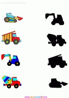 Shapes Worksheet Kindergarten, Kindergarten Math Worksheets, Toddler Learning Activities, Craft Activities For Kids, Transportation Theme Preschool, Autism Education, Free Preschool, Kids And Parenting, Matching Worksheets