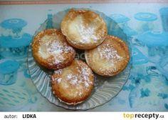 Jablka v županu recept - TopRecepty.cz Pretzel Bites, Hamburger, Muffin, Bread, Breakfast, Food, Fine Dining, Morning Coffee, Brot