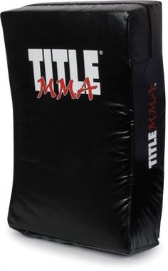 "TITLE MMA XXL Punch & Kick Shield, BK by Title Boxing. $79.99. An incredible punch, kick and body shield designed exclusively for MMA training. XXL size is crafted exclusively for MMA punches, strikes, kicks, elbows, knees and more with little impact on the trainer. Extra reinforced nylon handles on back are designed for multiple target positions - both tall and wide - options. A full 8"" of multi-layered super impact, shock absorbing foams for incredible striking density..."