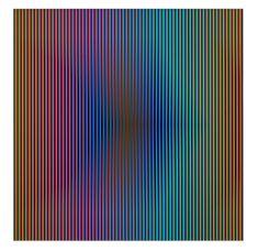 Carlos Cruz-Diez, Inducción Cromática Sicardi B, 2012, Marion Gallery