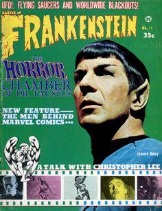 """Castle Of Frankenstein"" magazine, 1967."