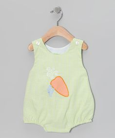 Candyland Green Carrot Bubble Bodysuit