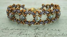 Ivy DIY Bracelet Variation | Don't miss out on this gorgeous seed bead pattern variation!