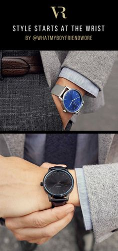 Every second counts. Your time is your most valuable asset. The Iconic collection was made for you to manage it in style, with precision, and class. Get inspired by iconic mens fashion influencer @WhatMyBoyfriendWore styling the new collection.