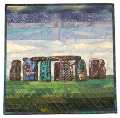 """""""Evening at Quilthenge"""" by Tomme Fent 