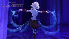 Vamers - Artistry - Game of Thrones Imagined as a Disney Movie - Art by Anderson Mahanski and Fernando Mendonça - White Walker