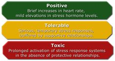 Toxic stress response can occur when a child experiences strong, frequent, and/or prolonged adversity—such as physical or emotional abuse, chronic neglect, caregiver substance abuse or mental illness, exposure to violence, and/or the accumulated burdens of family economic hardship—without adequate adult support.