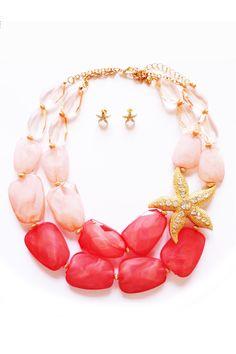 Maxi starfish collar