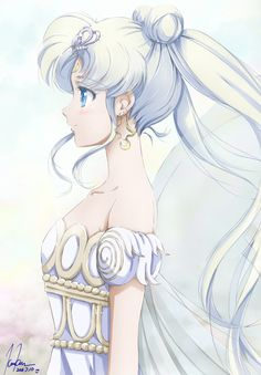 World of Eternal Sailor Moon • Fanart by けむけむ.