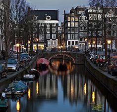 Amsterdam Canal - Holland