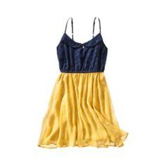 Xhilaration Peter Pan Collar Lace Dress