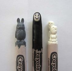 This Artist Creates Amazing Sculptures By Carving Into Crayons