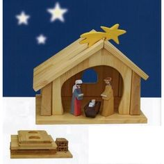 Holztiger Pine-Beech Stable: Nativity