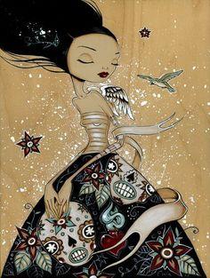 Paintings by Caia Koopman